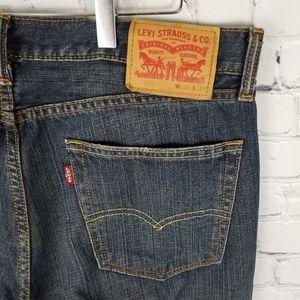 LEVI'S | 505 dark wash jeans